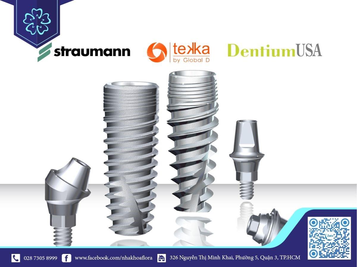 Các loại răng Implant phổ biến hiện nay