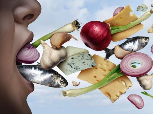 Hôi miệng do ăn các thực phẩm gây mùi