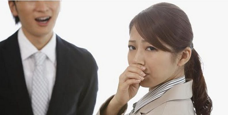 Hôi miệng gây ảnh hưởng đến công việc