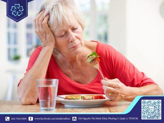 Tiêu xương gây khó khăn trong quá trình ăn uống (ảnh minh họa)