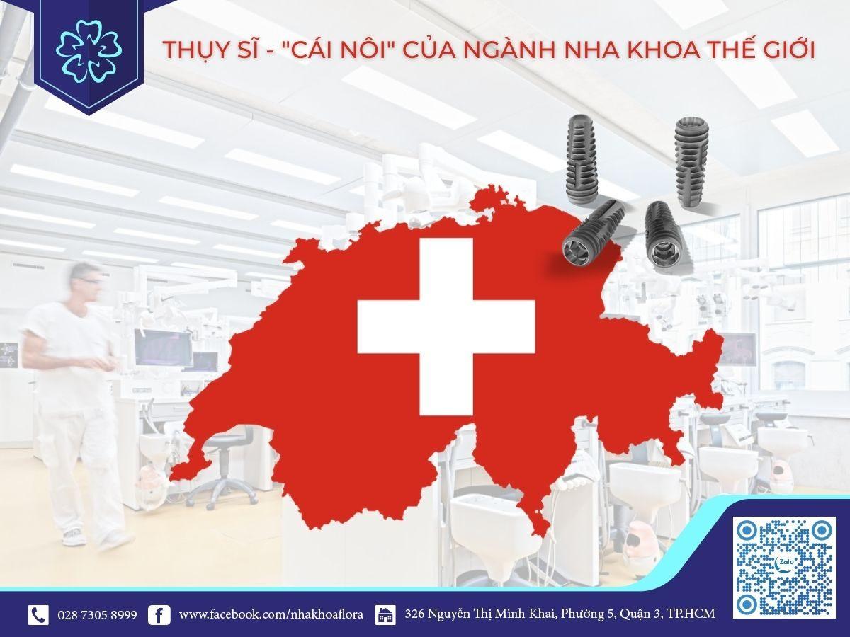 Implant Swiss- thương hiệu trồng răng implant từ Thụy Sĩ