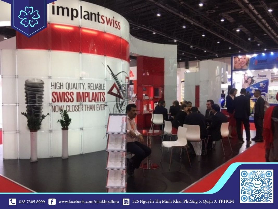 Trồng răng implant Swiss Thụy Sĩ chất lượng hàng đầu