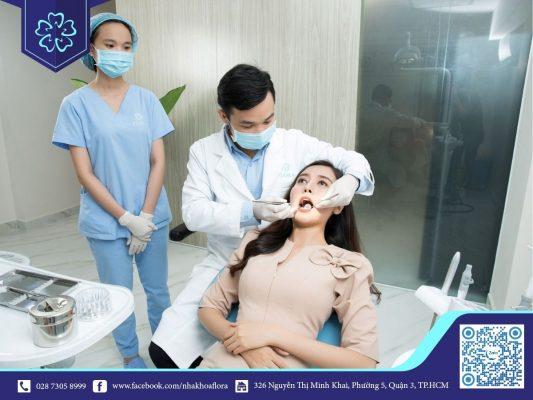 Nhổ răng khôn tại nha khoa Flora (ảnh minh họa)