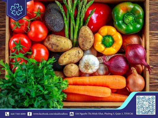 Bổ sung các loại rau củ giàu vitamin vào khẩu phần ăn (ảnh minh họa)