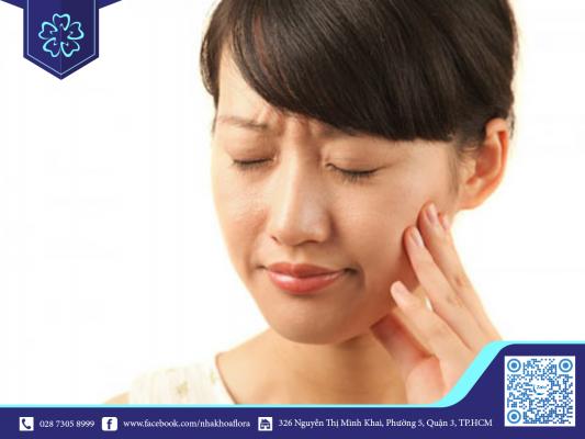 Răng sứ có thể bị đau khi thời tiết lạnh