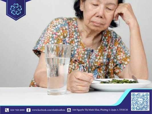 Mất răng gây khó ăn nhai và tăng tốc độ lão hóa (ảnh minh họa)