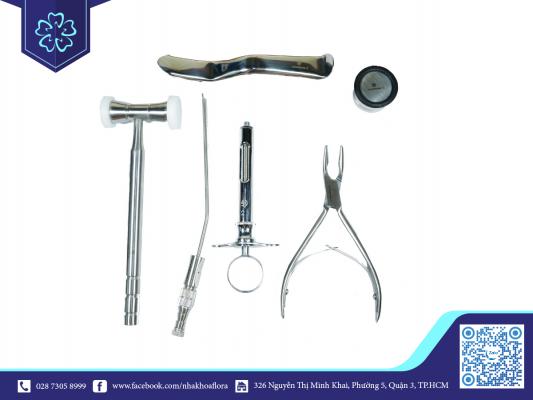Bộ dụng cụ cấy ghép Implant (ảnh minh họa)