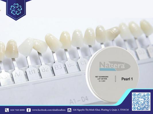 Giá bọc răng sứ Nacera dao động từ 5.200.000Đ