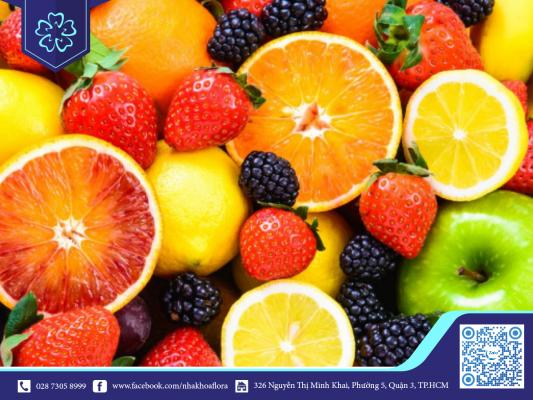 Nên ăn trái cây khi niềng răng để cung cấp Vitamin