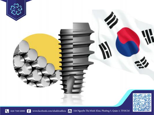 Trụ Implant Dentium Hàn Quốc cứng chắc, sử dụng đến trọn đời (ảnh minh họa)