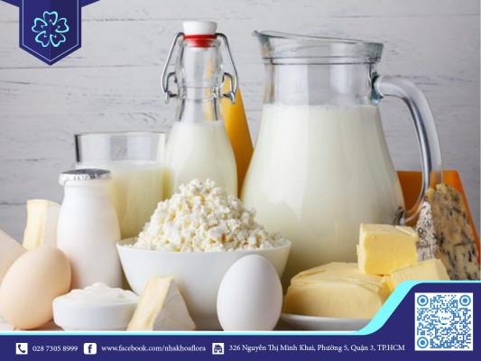 Nên sử dụng các sản phẩm từ sữa trong quá trình niềng răng